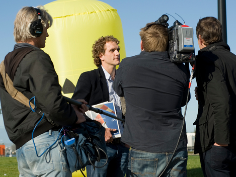 Press Conference in Amsterdam after Nuclear Action