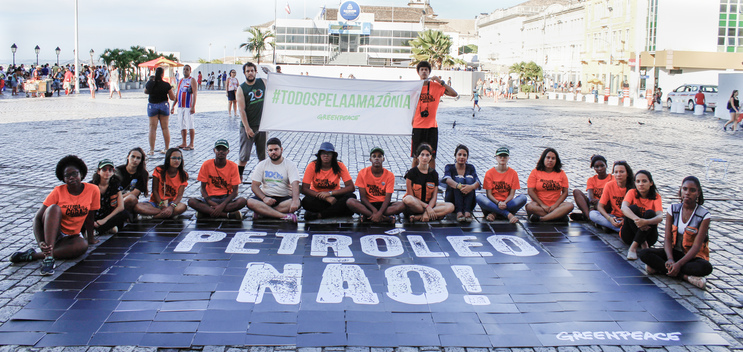 World Amazon Reef Day in Salvador, Brazil