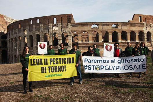 Activity in Rome to Launch European Citizens' Initiative to Ban Glyphosate