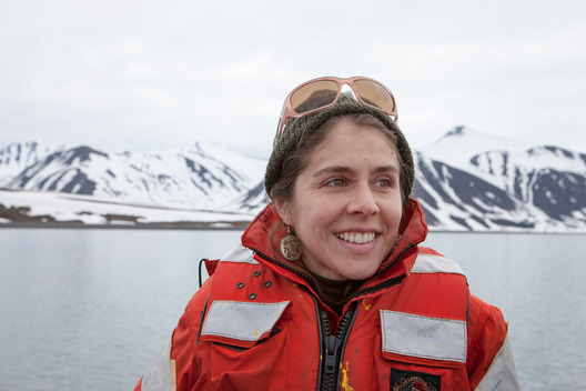 Girl Guide Miryam Justo in the Arctic