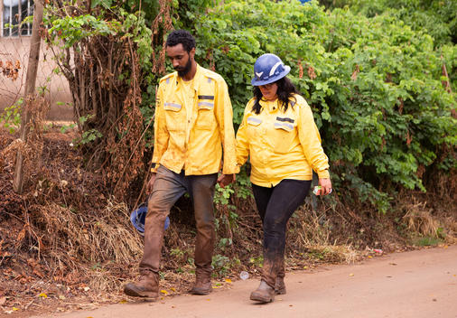 Volunteers return from Brumadinho Environmental Crime area in Brazil