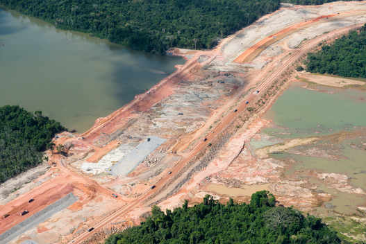 Belo Monte Dam Construction in Para State