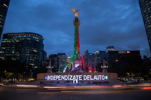 Urban Revolution Action in Mexico City