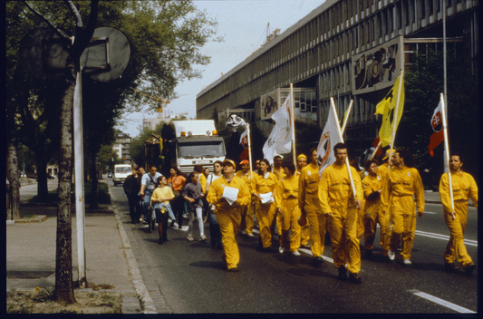 Three Day Anti Nuclear March in Slovakia