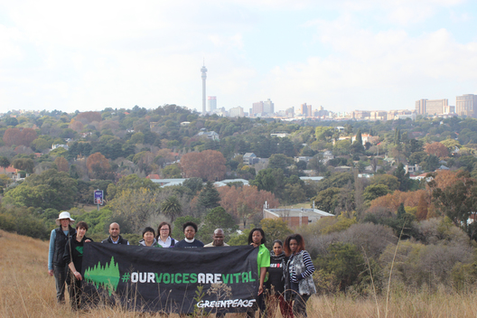 """Our Voices are Vital"" Activity in South Africa"