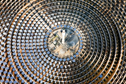 Gemasolar 15 MW Parabolic Power Plant in Spain