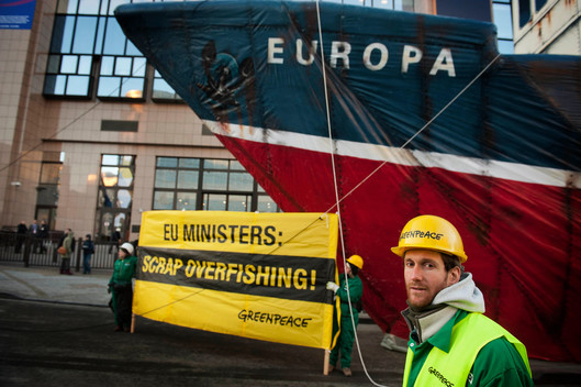 Scrap Overfishing Action in Brussels