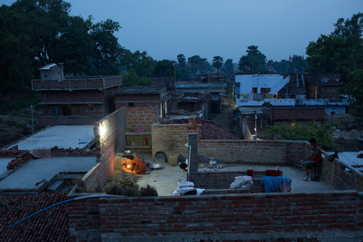 Solar Powered Light in Dharnai Village in India
