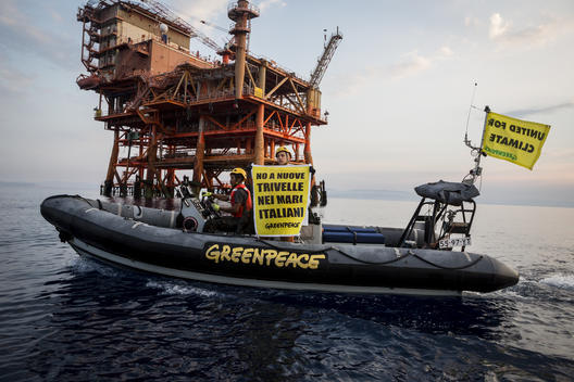 Stop Fossil Fuel Action in Sicily, Italy