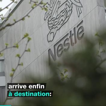 Plastic Monster Action at Nestlé Headquarters in Switzerland - Web Video (FR)