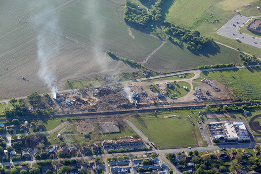 Fertilizer Plant Explosion in Texas