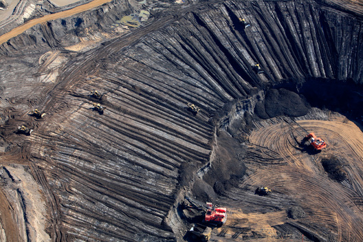 Syncrude Tar Sands Mine in Alberta