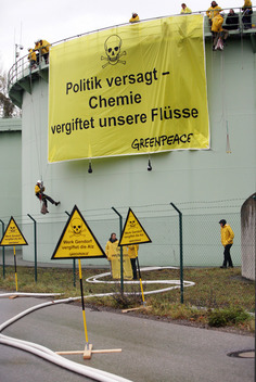 Action against River Pollution in Germany