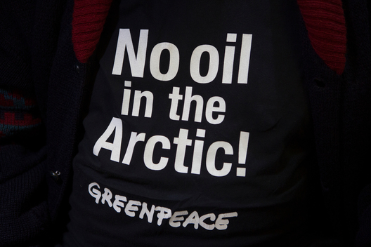 'No Oil in the Arctic!' T-shirt