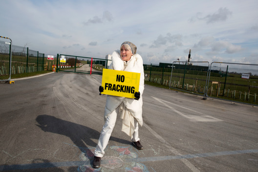 Emma Thompson Joins Women's Anti-Fracking March in Lancashire