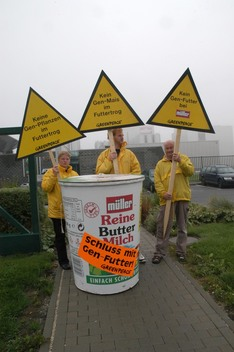 Action against GE Animal Fodder in Germany