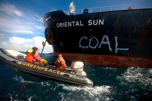 Quit Coal Enel Action in Brindisi (Photos & Video)