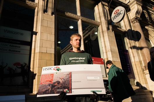 National Day of Action against HSBC in UK