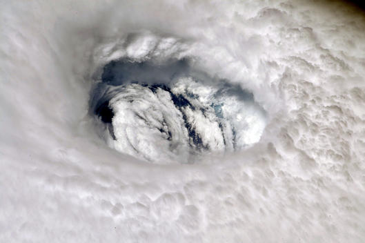 Hurricane Dorian Images by NASA