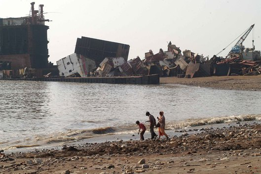 Shipbreaking in India - End of Life Ships