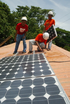 Tour around the South East of Asia to promote the use of clean energy.