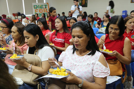 Healthy Eating Workshop in Pasig City