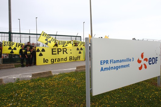Flamanville's EPR: Greenpeace ask Nicolas Hulot to end the Scandal in France