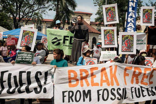 Cebu Communities Join the Global Break Free Protests against Fossil Fuels - Day 2