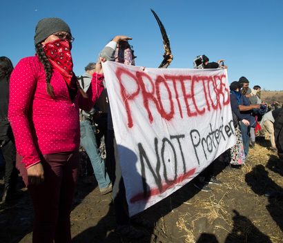 Water Protectors Dakota Access Pipeline Protests Continue
