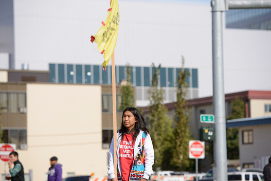 Shell Protest during President Obama's Visit to Alaska