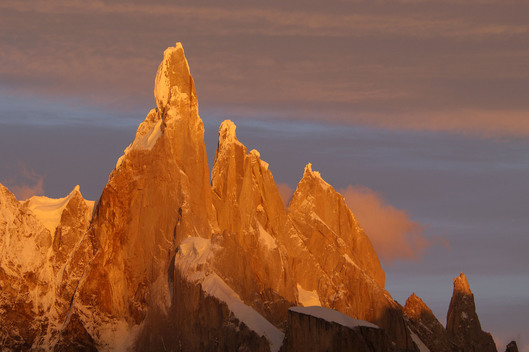 Cerro Torre Mountains in Argentina