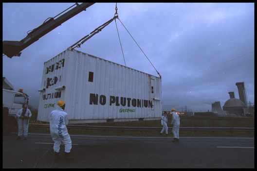 Occupation of Sellafield Nuclear Power Plant