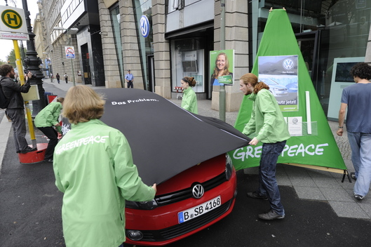 Volkswagen Golf Climate Action in Berlin