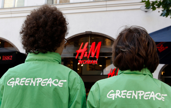 Detox Action at H&M in Germany