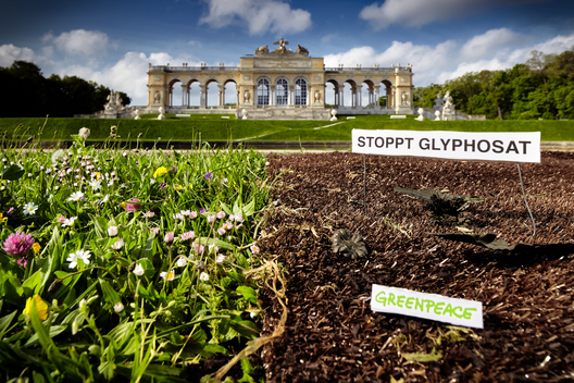 Glyphosate Action at Schönbrunn in Vienna
