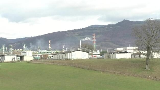 ENI Plant in Italy - Val D'Agri
