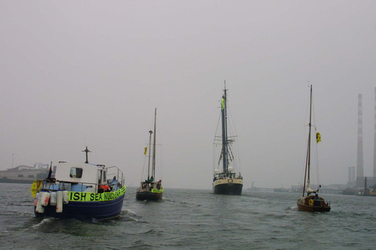 Nuclear Action Free Irish Flotilla in Ireland