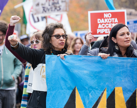 Dakota Access Pipeline Day of Action in Washington D.C.