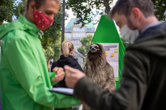 Group Action Day for Forest Protection in Hamburg