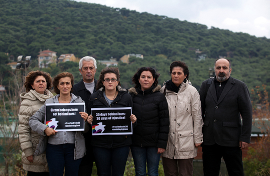 '30 Days of Injustice' Global Day of Solidarity in Istanbul