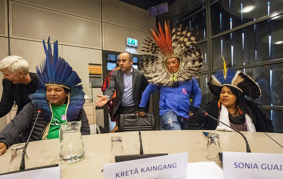 Brazilian Indigenous Leaders Meet with Dutch Politicians in The Hague