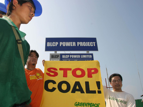 Climate Action against Construction of Coal Powered Plant in Thailand