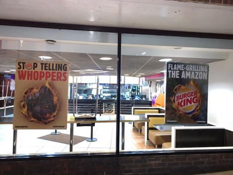 Local Group Campaign against Burger King in Guildford