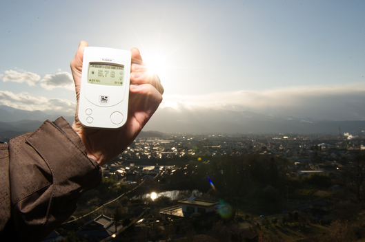 Measuring Radiation in Fukushima