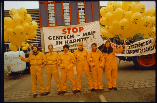 Action against Genetic Engineering in Austria