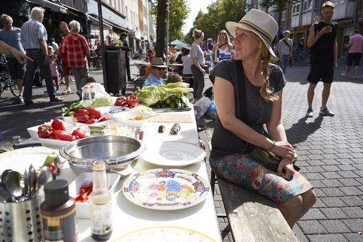 """Day of the Good Life"" in Cologne-Ehrenfeld"