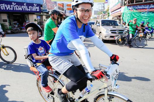 'Act for Arctic' Ice Ride in Thailand