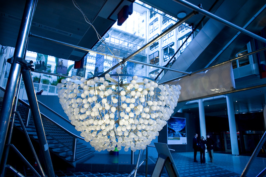 Low Energy Light Bulb Chandelier in The Hague