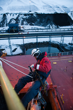 Climate Action at Svea Coal Mine in Svalbard