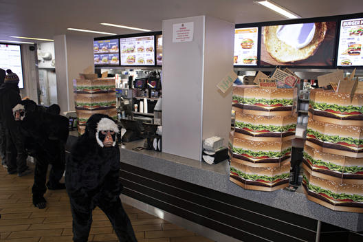 Local Groups Hand in Petition to Burger King in London